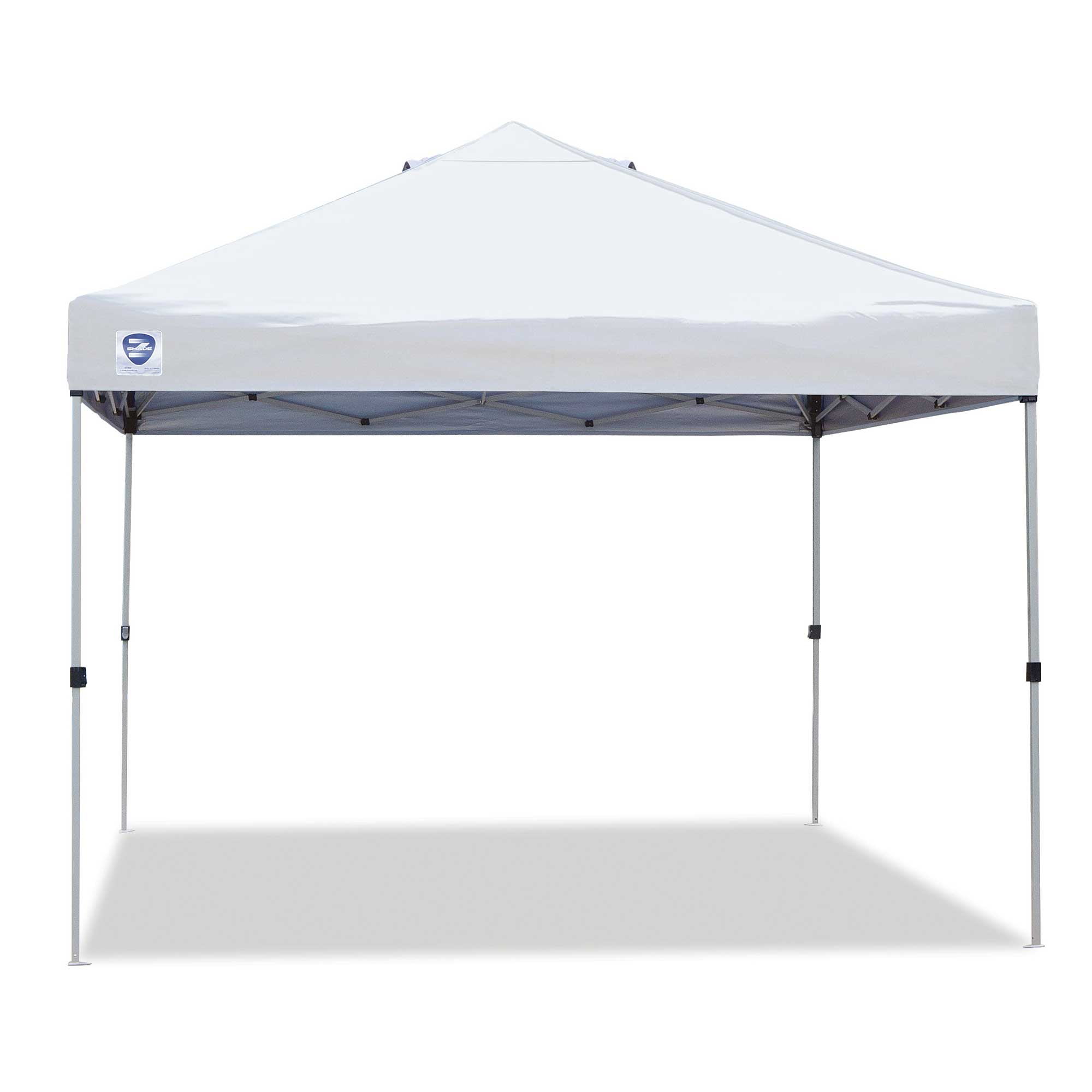 Z-Shade 10' x 10' Peak Canopy Straight Leg Instant Shade Tent Portable Shelter by Z-Shade