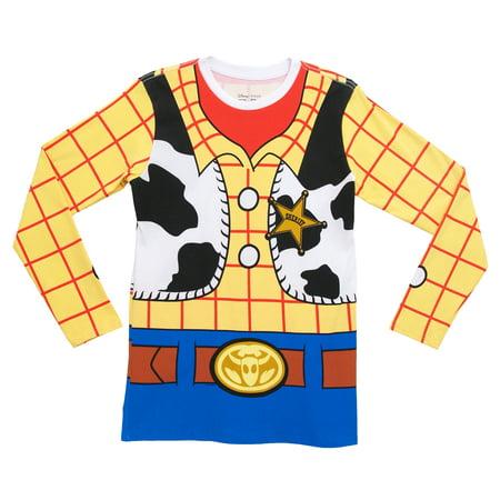 I Am Woody Toy Story Disney Pixar Movie Costume Adult Long