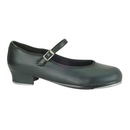 Danshuz Girl's Value Comfort Tap Shoes Black Synthetic 9 Child