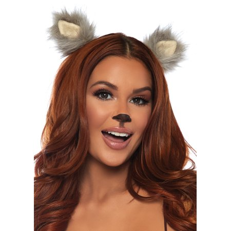 Furry Ear Clips Adult Halloween - Halloween Clips For Kids