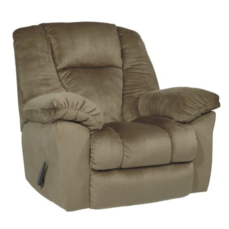 Ashley Darden Rocker Recliner In Driftwood Walmart Com