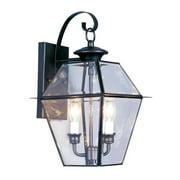 Livex 2281-04 Westover Outdoor Light- Black