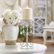 Elegant Beaded Candle Holder