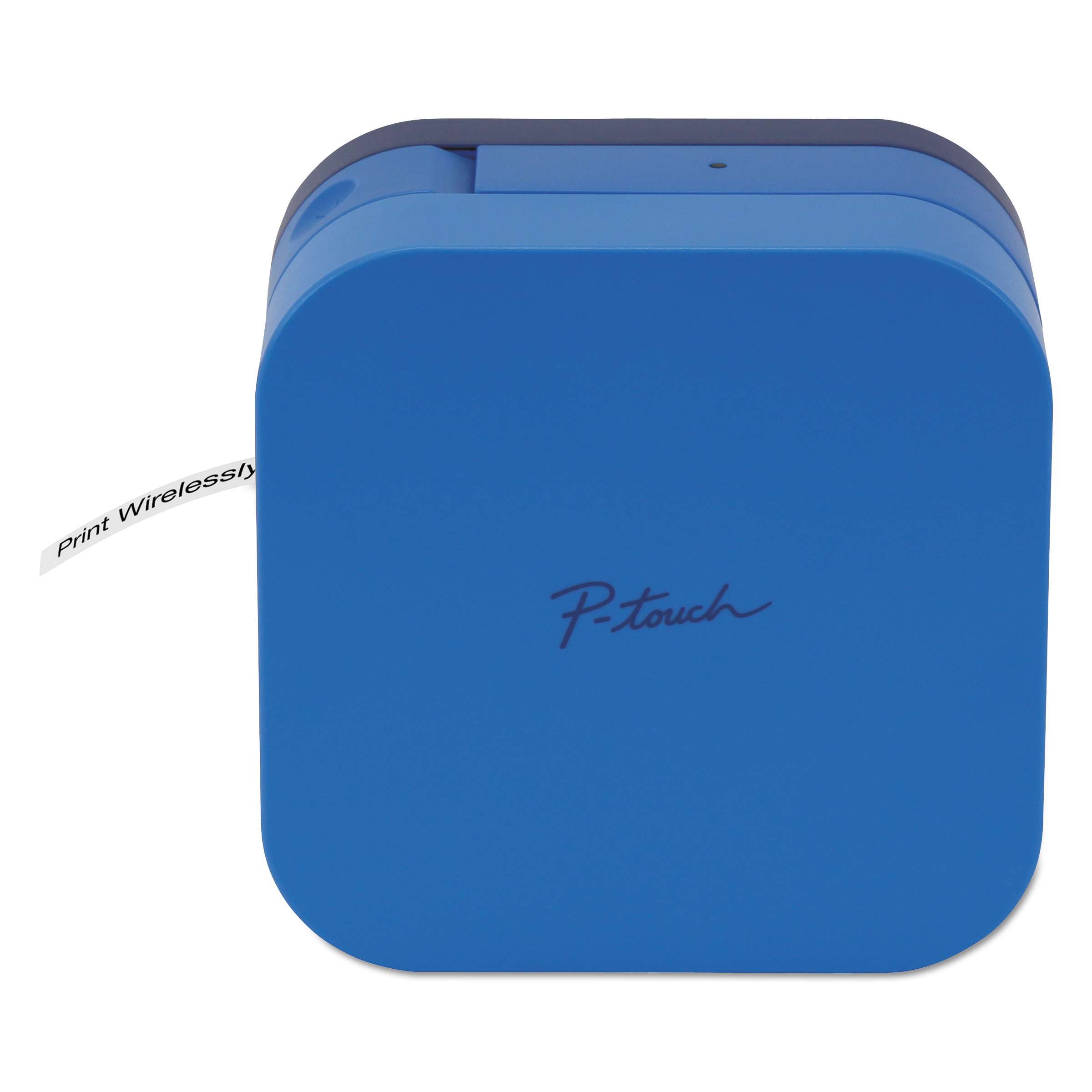 Brother P-touch CUBE Smartphone Label Maker with Bluetooth Wireless Technology Blue by BROTHER INTL. CORP.