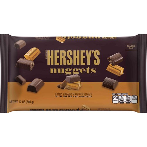 Hershey's Chocolate Nuggets, 12 Oz