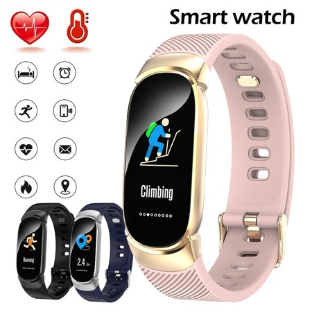 Waterproof Colorful Screen Bluetooth Smart Watch Bracelet with Heart Rate and Blood Pressure Monitoring Montre Intelligente Sapphire Water Resistant Bracelet