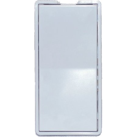 SIMPLY AUTOMATED INC. ZS11W FACE PLATE SINGLE ROCKER WHITE ZS11W FACE PLATE SINGLE ROCKER WHITE