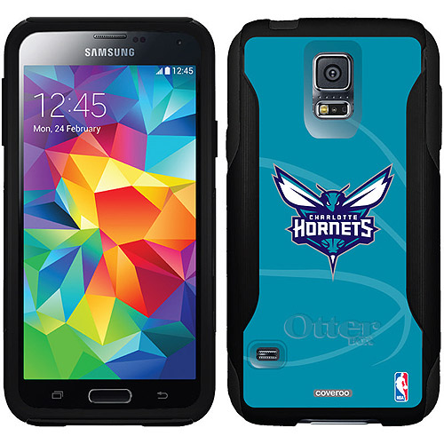 Charlotte Hornets Basketball Design on OtterBox Commuter Series Case for Samsung Galaxy S5