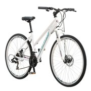 Schwinn DSB Hybrid Bike, 700c wheels, 21 speeds, womens frame, white