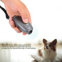 HURRISE Ultrasonic Dog Anti-barking Device Portable Dog Trainer Indoor Use,Dog No barking Device, Bark Trainer