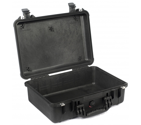 Pelican 1500NF Medium Crushproof Dry Case, 18.5x14x7in, B...