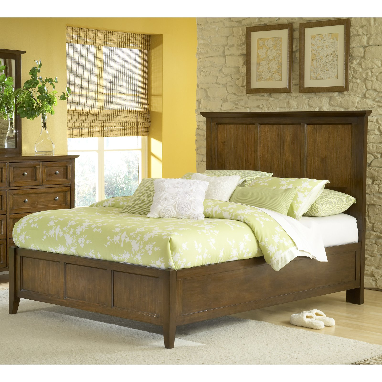 Modus Furniture Paragon Panel Storage Bed