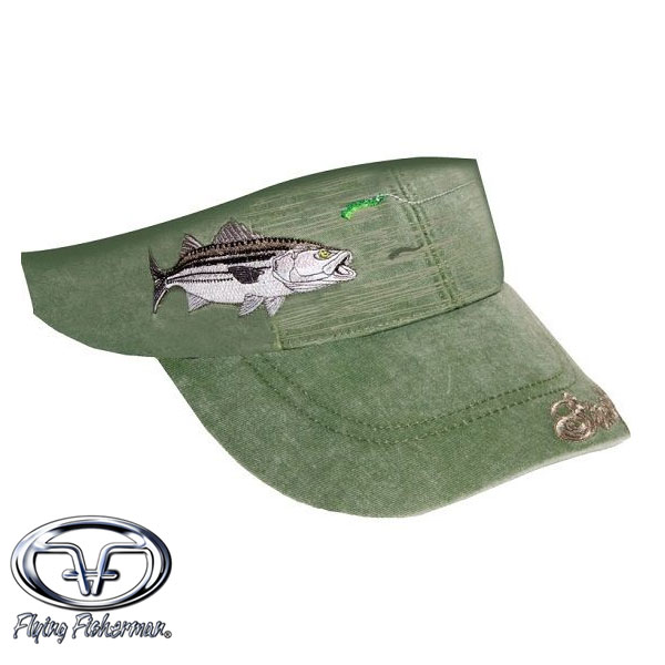 Flying Fisherman Striper w/ Lure Visor - Cactus