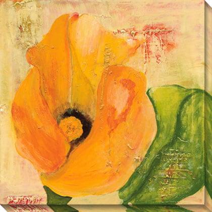 Gallery Direct  Laura Gunn 'Calla Lily in Orange' Canvas Art