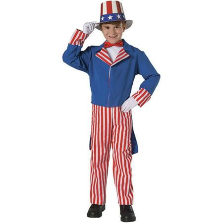 Uncle Sam Boys Child Halloween Costume - Sam Dean Castiel Halloween