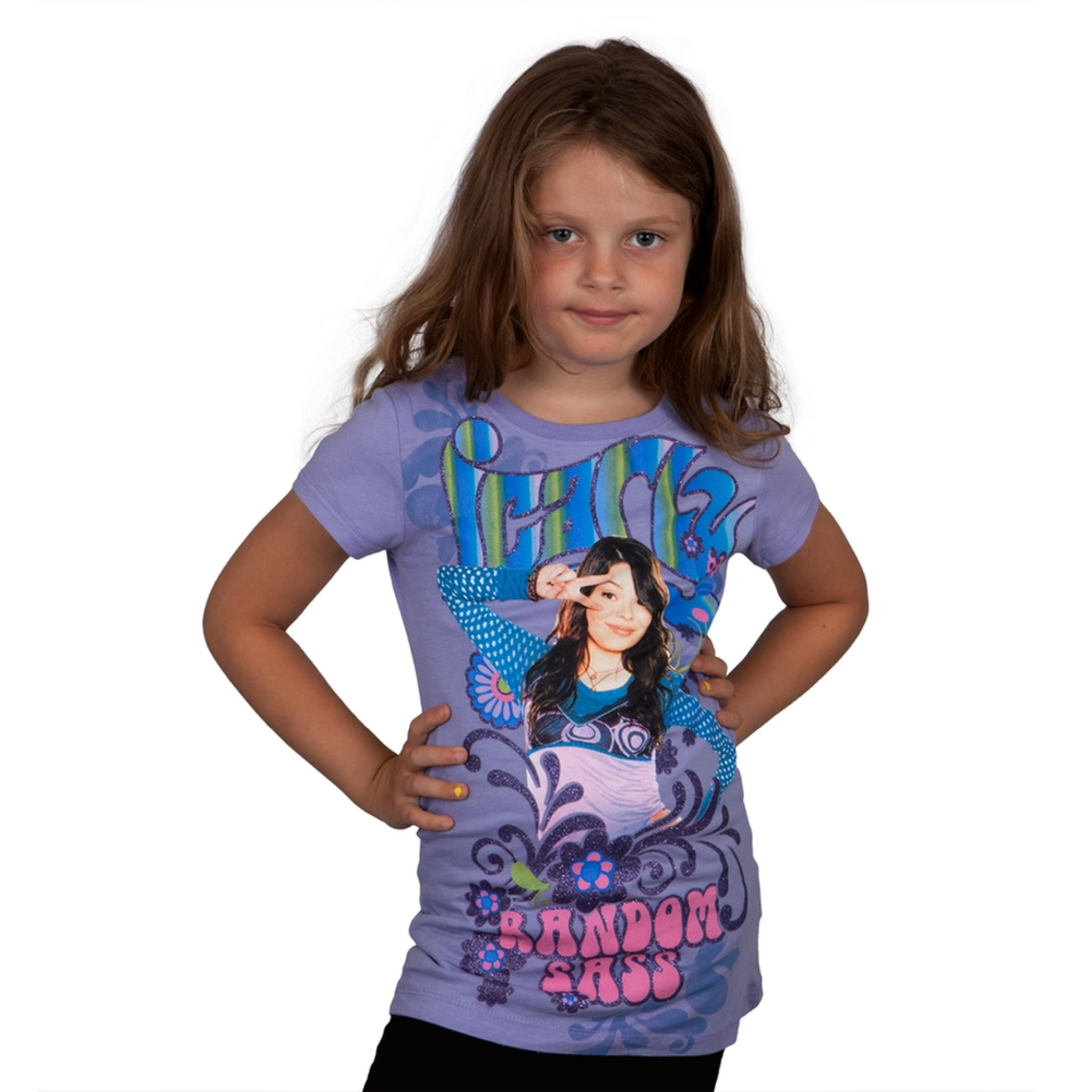 iCarly - Random Sass Girls Youth T-Shirt