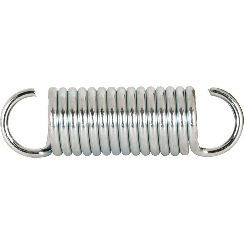 """Prime-Line Extension Spring 0.105 """" X 3/4 """" X 2-5/8 """" Steel Polybag Of 2"""