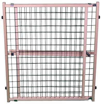 North State Ind 4614A Pet Gate, Wire Mesh, 29.5 to 50 x 32-In.