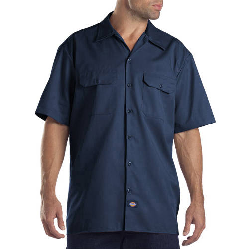 Dickies Big and Tall Men's Short Sleeve Twill Work Shirt