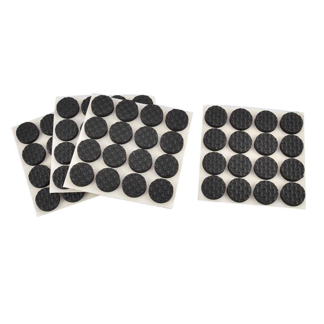Household Bedroom Rubber Furniture Fitment Table Leg Foot Protection Pad 64pcs