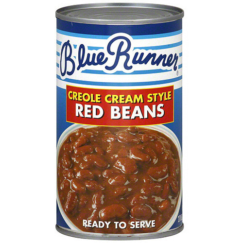 Blue Runner Creole Cream Style Red Beans, 27 oz (Pack of 12)