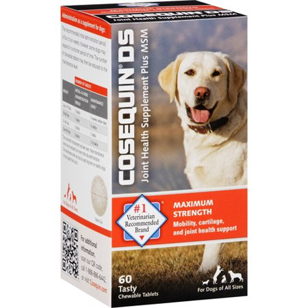 Cosequin Glucosamine Tablet Dog Supplements - 60 ct