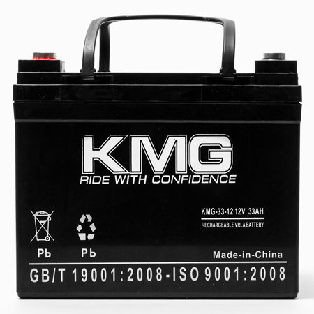 KMG 12V 33Ah Replacement Battery for Mansfield Smec 1300M INTRA AORTA BALLOON PUMP - image 1 de 3