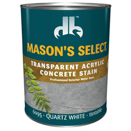 Duckback Products DB0060953-14 Masons Select Transparent Concrete Stain, Pack Of -