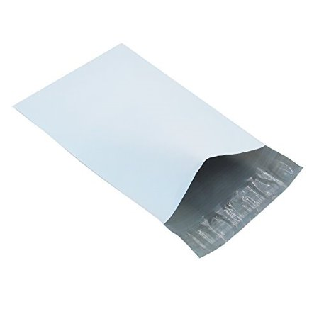 Progo Self-Seal Poly Mailers, Tear Proof, Water Resistant and Postage Saving Lightweight Plastic Shipping Envelopes/Bags, 100 (Postage Bags)