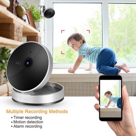 Herwey 1080P Smart WiFi Camera Network Surveillance Cube Camera Security Monitor, 1080P Cube Camera, Surveillance Cube Camera - image 2 of 8