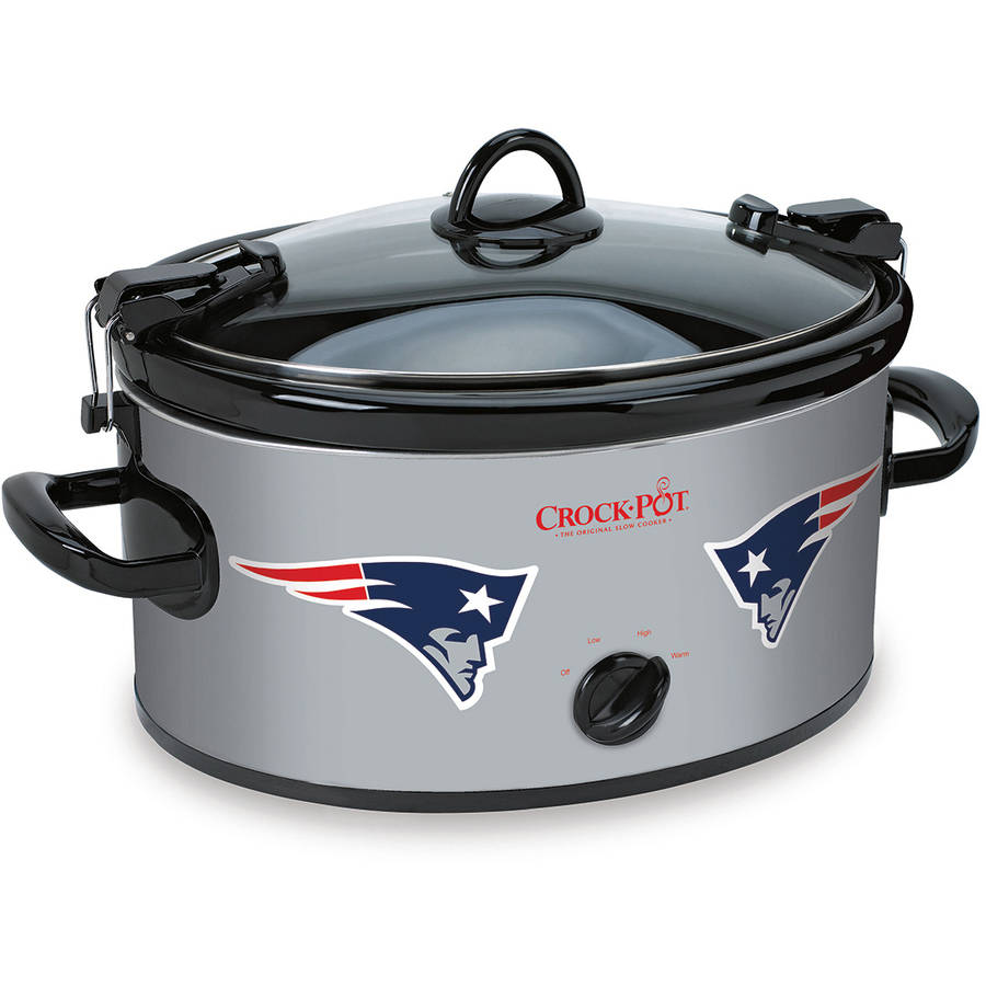 Crock-Pot NFL 6-Quart Slow Cooker, New England Patriots