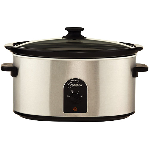 West Bend 7 Quart Oval Slow  Cooker