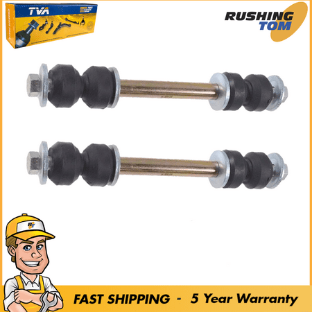 2 Front Sway Bar Links Set For Chevy Silverado Tahoe Escalade GMC Sierra Yukon