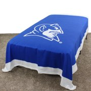 "Duke Blue Devils Duvet Cover / Summer Blanket, 2 Sided Reversible, 100% Cotton, 86"" x 96"", Queen"