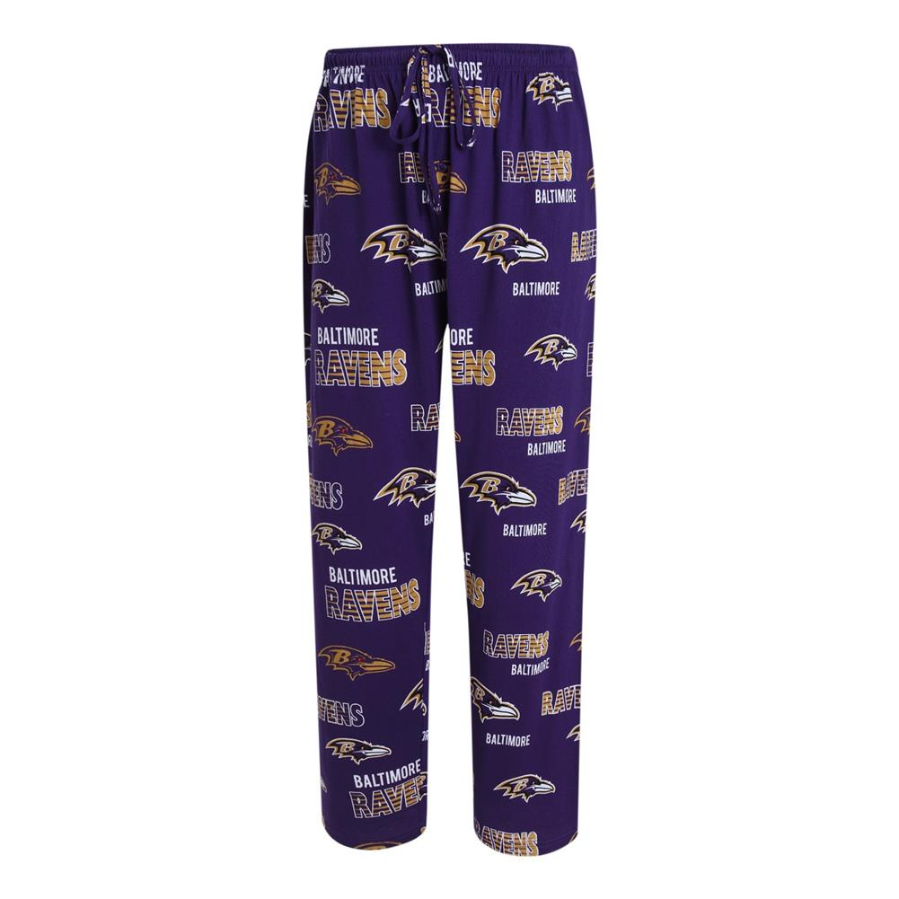 Men's Sweep Knit Baltimore Ravens Pajama Pants