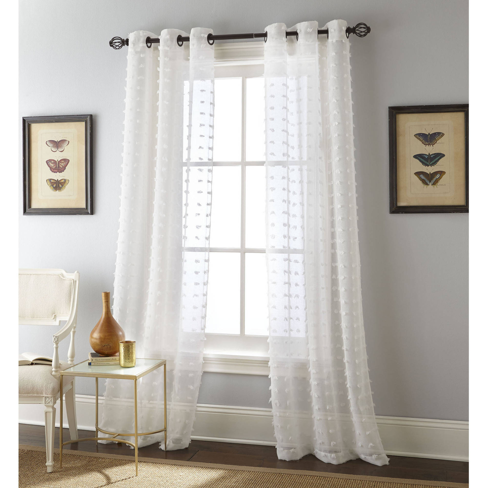 Nanshing Olly Window Curtain Panels Set of 2 with Grommet by NANSHING AMERICA INC