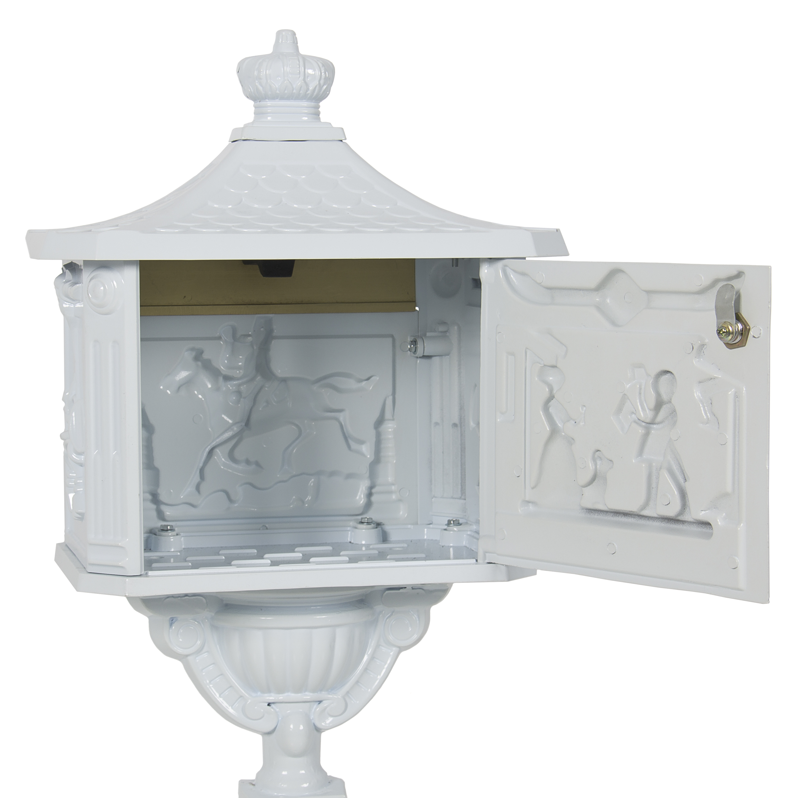 pedestal outdoorfurniture ritas furniture mailbox outdoor products victorian img