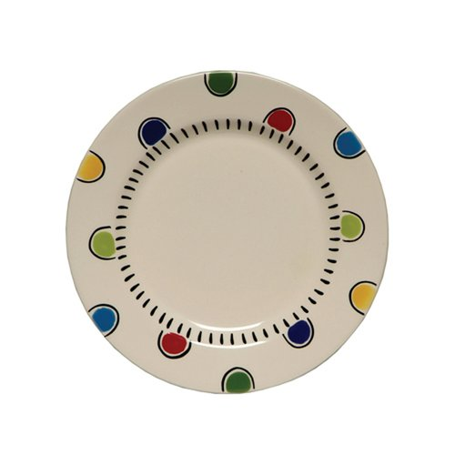 Thompson and Elm Happy Together Salad Plate (Set of 4)