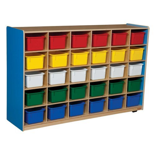 Wood Designs 30 Tray Colors Storage