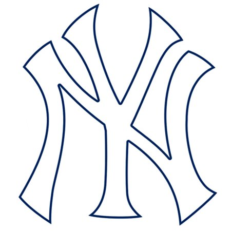 New York Yankees Fathead Logo Giant Removable Decal - No - Giants Logo Fathead Wall