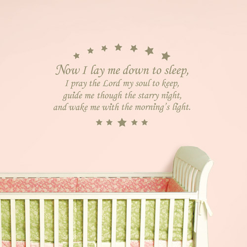 WallPops - Sleep Time Children's Prayer