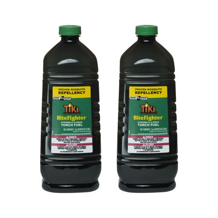 Citronella Torch Fuel - TIKI® Brand 100 oz. BiteFighter Torch Fuel with Easy Pour System 2-pack