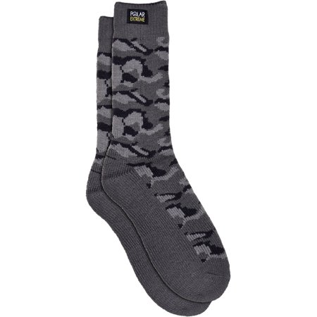 Men's Polar Extreme Insulated Thermal Camouflage Pattern Socks in 3 Great Colors