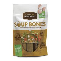 Rachael Ray Nutrish Soup Bones Dog Treats, Real Chicken & Veggies Flavor (Various Sizes)