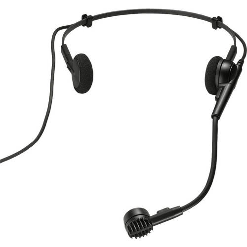 Audio-Technica PRO8HEcW Hypercardioid Dynamic Headset Mic Wired XLR by Audio-Technica