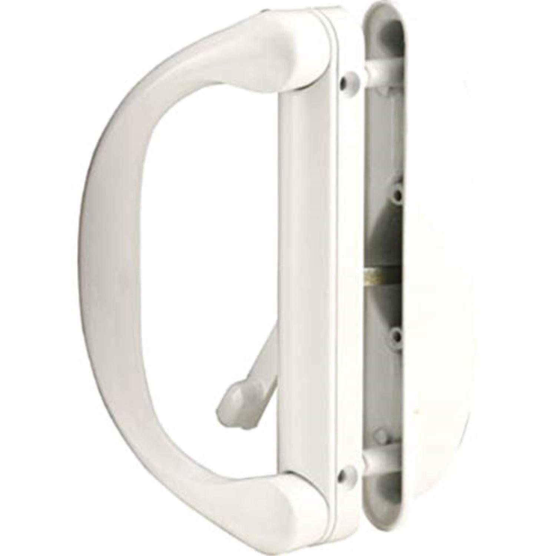 Sliding Patio Door Handle Set For Milgard White Walmart Com