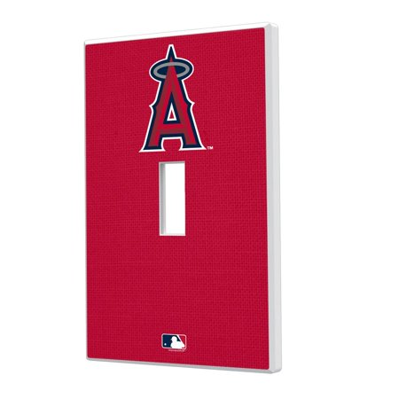 Los Angeles Angels Solid Single Toggle Light Switch Plate Moose Single Switchplate