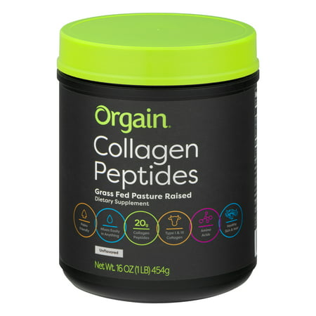 Orgain Collagen Peptide Powder - 16oz