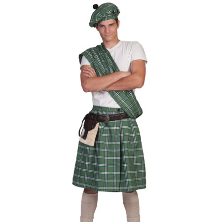 Scottish Highlander Men's Adult Halloween Costume - Scottish Name For Halloween