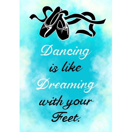 Dancing Is Like Dreaming?(dance Journal for Girls): Lined Journal Notebook for Kids; Cute Journal for Use as Daily Diary or School Notebook; Ideal for Doodle Notes, Dance Lesson Journals or - High School Dance Themes